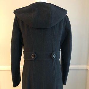 Anne Klein Jackets & Coats - Anne Klein Dark Gray Wool Coat